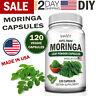 100% Pure MORINGA Oleifera Leaf Powder Capsules Pills Superfood 120 Vegan Caps