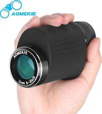 Compact 8-20X25 Zoom Monocular HD Optical Glass High Power Bird Watching Scope