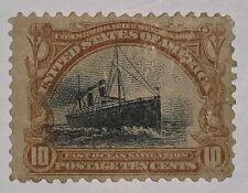 Travelstamps: 1901 US Stamps Scott # 299, Fast Ocean Navigation, mint og hinged