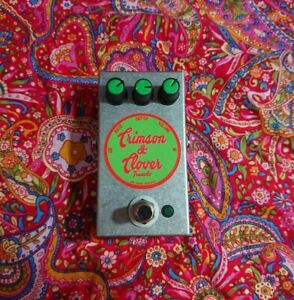 GMR Crimson & Clover Hand Wired Tremolo Guitar Pedal (Kit/Fully Assembled)