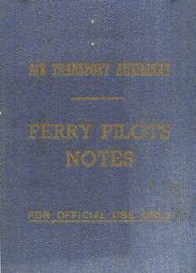 ATA PILOT'S NOTES: HURRICANE, WELLINGTON, MOSQUITO, TYPHOON, LIBERATOR/ pdf DVD