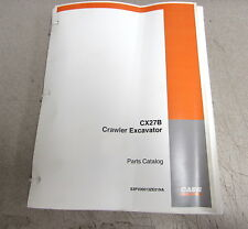 Case CX27B Crawler Excavator Parts Catalog Manual S3PV00013ZE01NA 2005