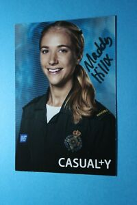 Maddy Hill (Casualty) Signed Cast Card