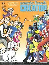 COMIC BOOK CREATOR MAGAZINE # 16 FANZINE MARIE SEVERIN DAN PARENT ARCHIE KIRBY
