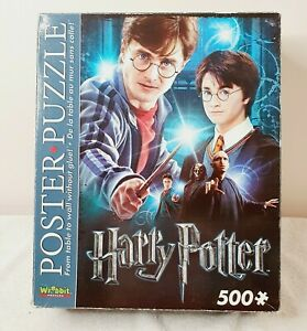 Harry Potter Poster 500pc Puzzle Snug Fit Foam Pieces Hang On Your Wall