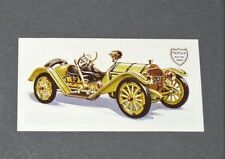 BROOKE BOND CARD 1968 HISTORY CAR N°15 MERCER TYPE 35 RACEABOUT 5 L 1914 USA