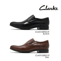 Clarks Conwell Step Men Casual Slip On Loafers Oxford Dress Shoes Pick 1
