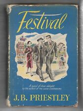 Festival, J B Priestley, Harper Hardcover, first edition