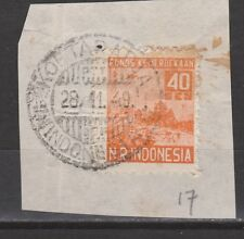 Japanese occupation Sumatra 17 TOP CANCEL KOETARADJA INDONESIA Japanse bezetting