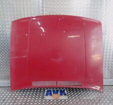 Motorhaube rot, VW Polo 86C 80,  86C Coupe, Schrägheck Limousine