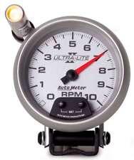 Auto Meter 4990 Gauge Tach 3 3/4 inch 10,000 RPM Pedestal Quick Lite Ultra Lite