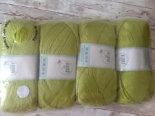 4 x 100g DK So Crafty Wool/Yarn - Green