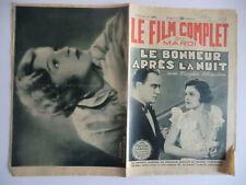 Le film complet du mardi n°1356- 1933 Le bonheur après la nuit par Pierre Mariel
