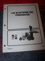 BE Manuel Hyster systeme de freinage H26.00-32.00C H36.00-44.00B H36.00-48.000C