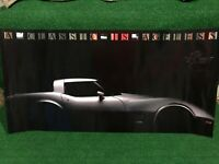 3M Color Key CORVETTE 25th Anniversary 1961-1986 A Classic Is Ageless 3Ft Poster