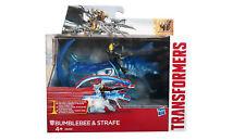 Hasbro Transformers Spielzeug Movie 4 Sparkers Bumblebee & Strafe Actionfiguren