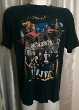 Aerosmith Live Rockin The Joint 05 06 Official Concert Tour T Shirt Black 2X 50""