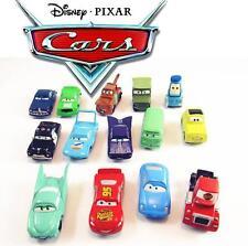 Lote 14 figuras CARS Rayo McQueen figure PIXAR 3ds juguete niños ps3