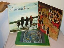 Lot 6 Vtg International Christmas Music LP Records Ireland Italy France Germany
