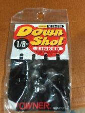 Owner Down Shot Sinker Drop Shot Sinker Weight 1/8