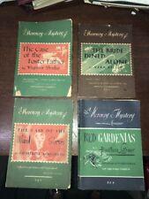 1939 1942 1943 A MERCURY MYSTERY LOT 4 NOVEKS BOOKS NO. 55 85 92 93 ESTATE FIND