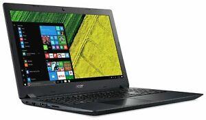 Acer Aspire 3 15.6 Inch AMD E2 8GB RAM 1TB HDD AMD Radeon R2 Laptop - Black
