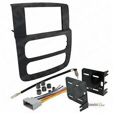 Aftermarket Double-Din Radio Mount for RAM, Car Stereo Install Dash Kit w/ Wires