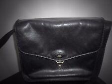 Gorgeous ladies designer handbag The Bridge messenger navy bag real leather