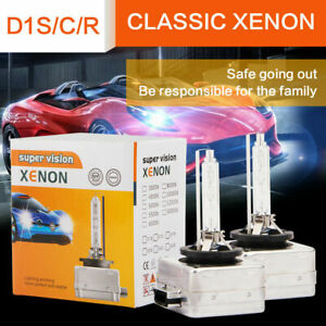 2x D1S D1C 35W Xenon Headlight Bulbs For AUDI BMW MERCEDES Replace PHILIPS OSRAM