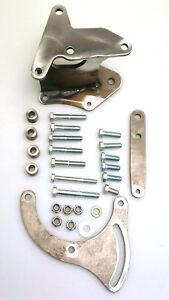 Oldsmobile 350-455 A/C bracket for Sanden 508 compressor