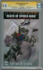 ULTIMATE SPIDER-MAN #160 RETAIL VARIANT CGC 9.8 SIGNATURE SERIES STAN LEE MARVEL