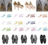 Wedding Shoe Stickers -Crystal/Diamante-Something Blue-Gift for Bride/Groom- UK