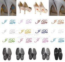 Zapato De Boda Pegatinas-Cristal/Diamante-Algo Azul-Regalo para Novia Novio-UK