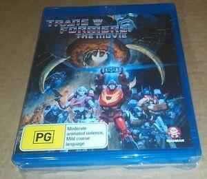 Transformers: The Movie (Blu-ray) Animated