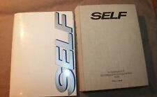 1979 BOUND COMPLETE INAUGURAL YEAR SELF MAGAZINE WITH STYLE PROTOTYPE FINE