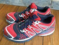 Running Shoes Salomon XR Crossmax 1 Mens 9.5 Ortholite Trainers Red White Black