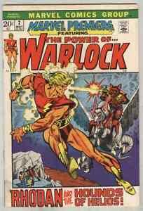 Marvel Premiere #2 May 1972 VG Warlock
