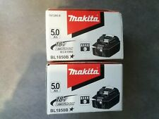 Lot de 2 batteries Makita 5.0Ah 18 V Neuve