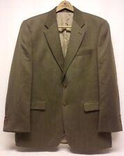 Lauren Ralph Lauren Wool 2 Button Blazer Jacket Men's Size 43 R Mixed Green