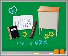Re-Ment Miniature High School Memorial Life Student Accessories Set # 8