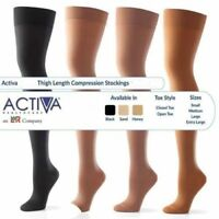 Activa CLASS 1 & 2 Compression Socks (Thigh Length, Above Knee) Support Hosiery
