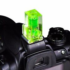 Hot Shoe Two Axis Double Bubble Spirit Level For Canon Nikon Camera DSLR