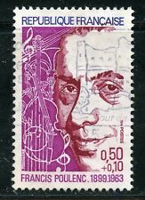 STAMP / TIMBRE FRANCE OBLITERE N° 1785 FRANCIS POULENC
