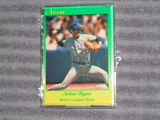 NOLAN RYAN- STAR - NOVA- 9 card set- #153/500- 1990