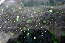 Rhinestone Hot Fix Iron on, Glass Material Rhinestone SS6 (2mm) Green 5gr/720pcs