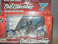 NHL Die Cast, OCC Chopper, St. Louis Blues, NEW