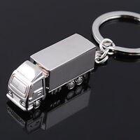 EG_ Catchy Best Metal Truck Lorry Car Key Ring Keyfob Keychain Creative Gift Key