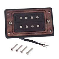 Exquisite Cigar Box Guitar Iron Copper Alnico 5 Humbucker with Screws