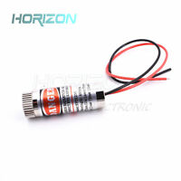 1/2/5PCS Red Line Laser Module 5mW 650nm Focus Adjustable Laser Head 5V module