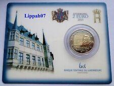 Luxemburg / Luxembourg speciale 2 euro 2013 Volkslied / Heemecht BU in Coincard